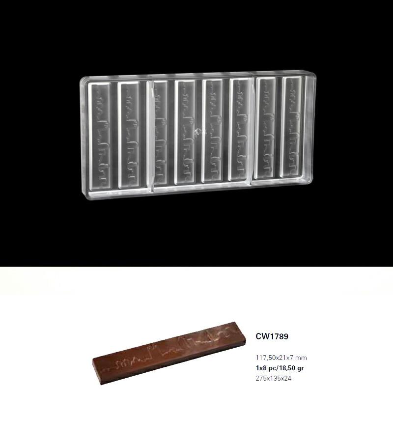 【30%OFF】【チョコレートワールド】CW1789 117,50x21x7mm 8P バー