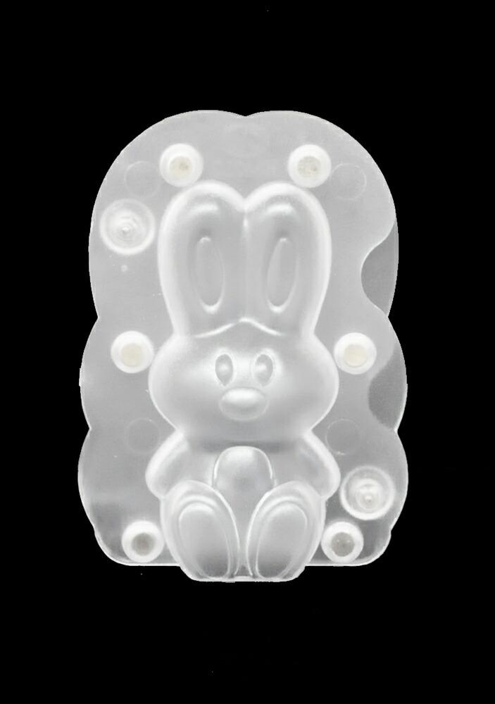 【10%OFF】【チョコレートワールド】座るウサギ型(小)/H150mm(合わせ型/マグネット式)【11,000円(税込)以上送料無料対象品】