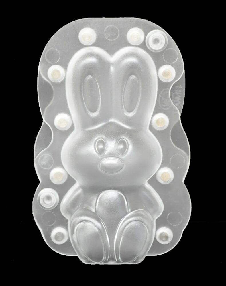 【10%OFF】【チョコレートワールド】座るウサギ型(大)/H200mm(合わせ型/マグネット式)【11,000円(税込)以上送料無料対象品】
