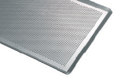 【30%OFF】穴開き鉄板(アルミ製) 長さ 400mm 幅 300mm
