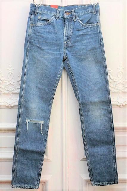 "LEVI'S VINTAGE CLOTHING "" 606 1969 Hank - 加工ジーンズ "" リーバイスヴィンテージクロージング  col.indigo  30605-0054"