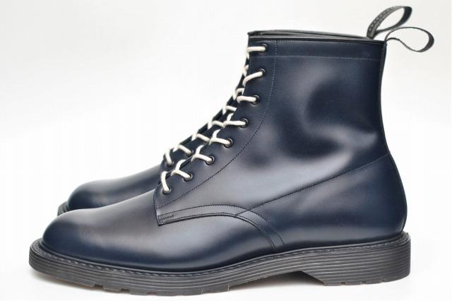 foot the coacher フットザコーチャー S.S. BOOTS - PLANE TOE col.NAVY バレンタインデー クからトレドまで幅広いアイテムを提案! 引出物 お礼 誕生日 年末バーゲン