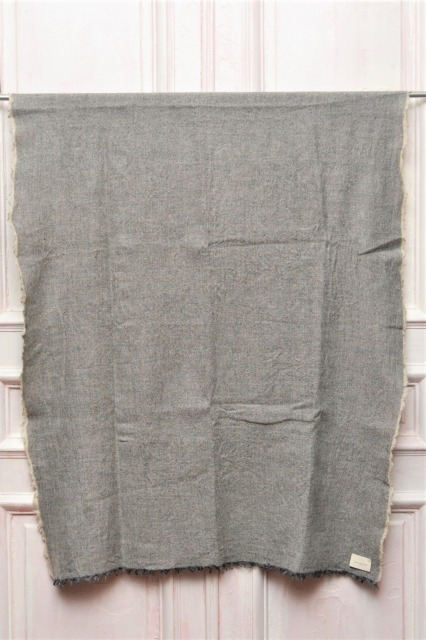 "toogood "" THE TINKER SCARF - WOOL LINEN "" トゥーグッド ティンカースカーフ col.GRANITE"