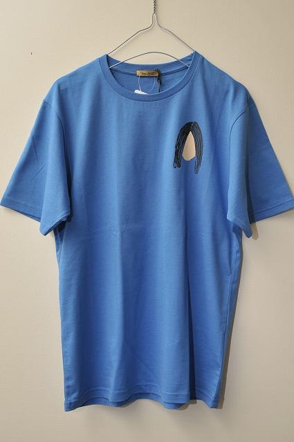 Peter Jensen ピーターイェンセン YOKO T-SHIRT オノヨーコTシャツ  col.BLUE