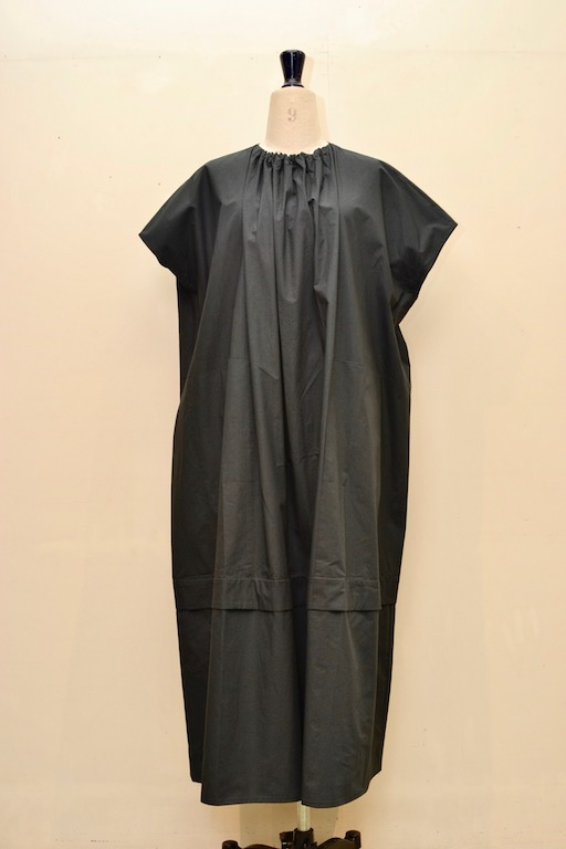 toogood トゥーグッド THE POET DRESS COTTON col.FLINT