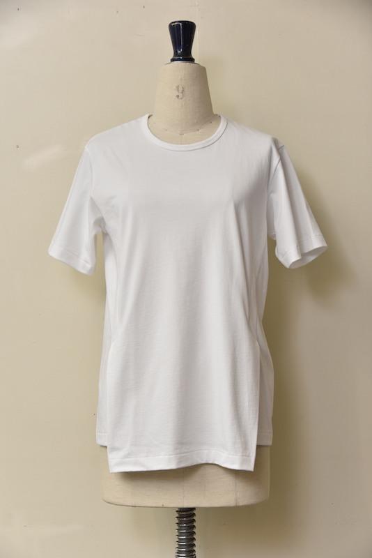 毎週更新 Scye オーガニック度詰天竺 サイドベンツTシャツ クリアランスsale 期間限定 col.オフシロ 1000900