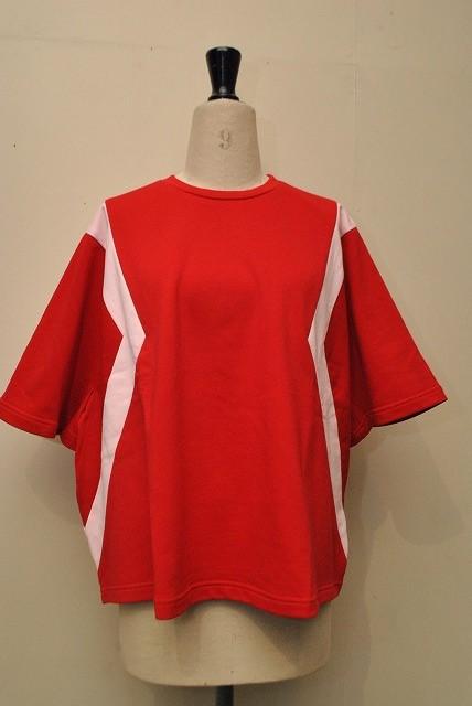 KOCHE コシェ オーバーサイズTシャツ col.RED