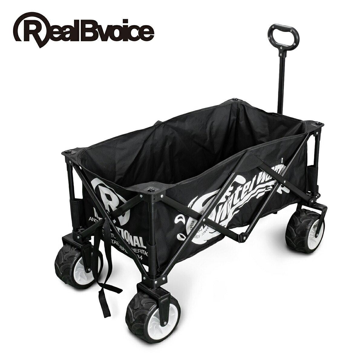 リアルビーボイス RealBvoice キャリーカート キャリーワゴン アウトドア 折り畳み キャンプ RBV OUTDOOR CARRY WAGON