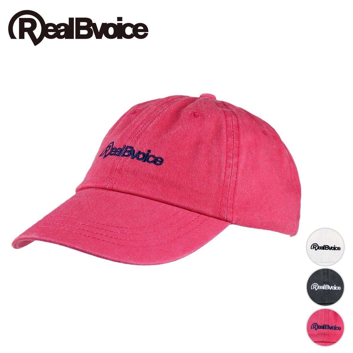 リアルビーボイス RealBvoice BASIC LOGO CAP