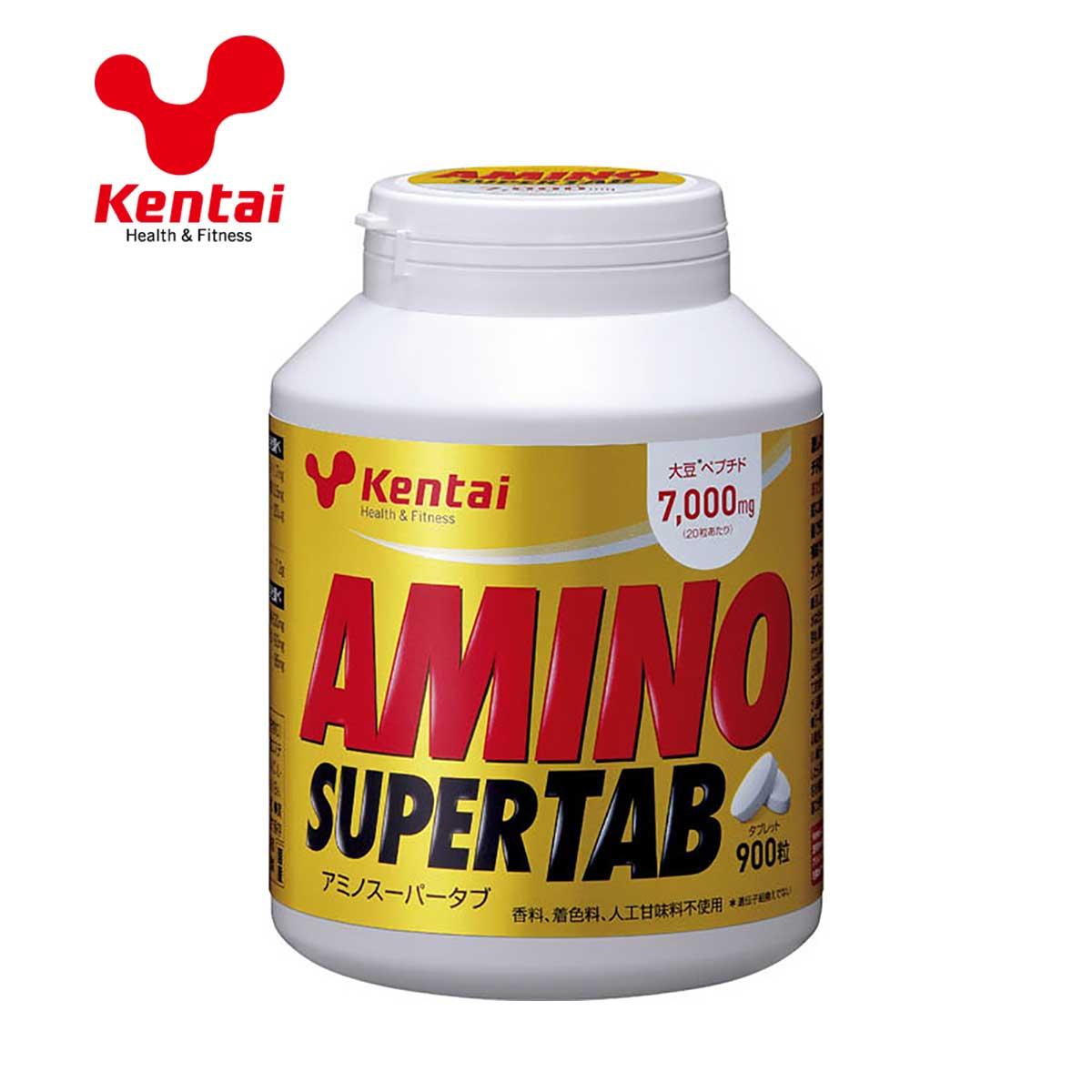 オンライン限定商品 超目玉 KTK-K5404 いつでもどこでも手軽にアミノ酸補給 Kentai 健康体力研究所 スーパー アミノ 900粒 タブ