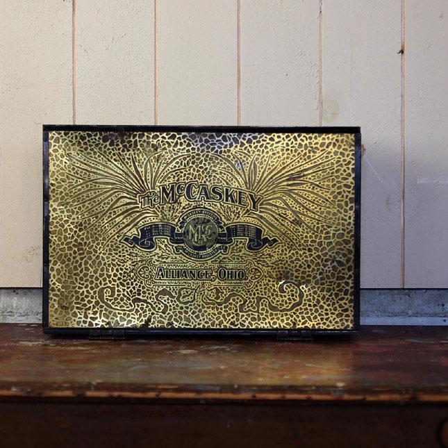 【送料無料】【アメリカンアンティーク】 antique customer paper holder -古い鉄製ファイル- 【中古】
