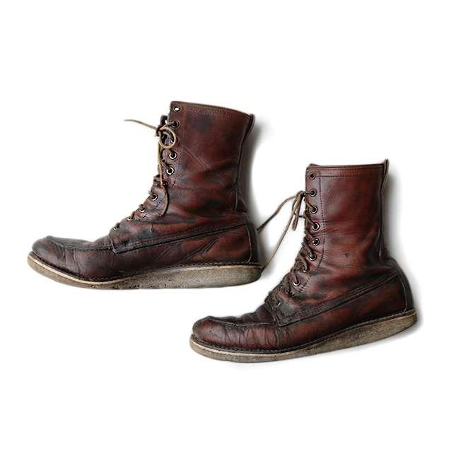 【送料無料】60年代 RED WING 877 SIZE10【中古】アメリカ古着 カジュアル メンズ ヴィンテージ 60s 靴 シューズ ブラウン レッドウィング ブーツ
