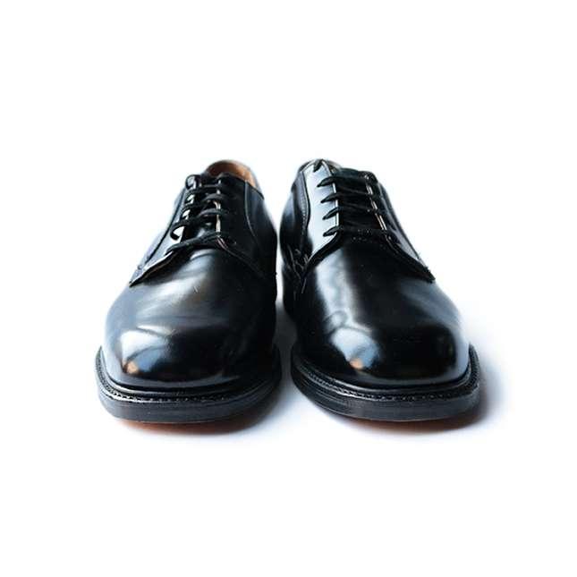 【送料無料】NOS 60年代 THORO GOOD ワーク シューズ SIZE 10 #2【中古】メンズ カジュアル アメリカ ヴィンテージ 古着 靴 革靴 レザー 未使用 靴ひも 60年代 ソログッド フォーマル 黒 ブラック
