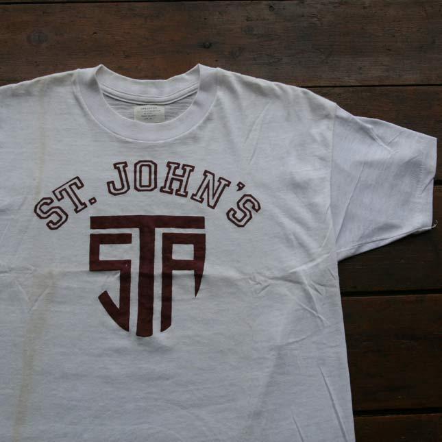 【送料無料】【smtb-TK】【アメリカ古着】【中古】【アメカジ】1950年代ヴィンテージデッドストックカレッジTシャツ