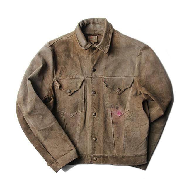 【送料無料】50年代 LEVIS ショート ホーン スエード ジャケット