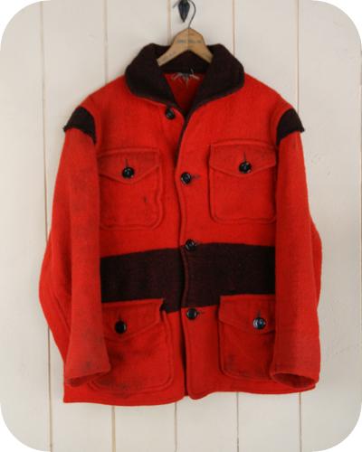 【送料無料】40年代カーズマッキーノヴィンテージウールジャケット 【アメリカ古着】【ビンテージ】