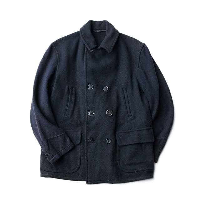 【送料無料】~40年代 UNKNOWN ウール ピーコート【中古】メンズカジュアル 古着 アウター PEA COAT 40s Pコート ジャケット アメリカ古着 ヴィンテージ