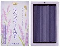 (送料無料)(まとめ買い・ケース販売)カメヤマ 花げしき ラベンダーの香り ミニ寸(100個セット)/ カメヤマ