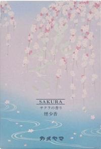 (送料無料)(まとめ買い・ケース販売)カメヤマ 花ふぜい 桜 煙少香 徳用大型(60個セット)/ カメヤマ