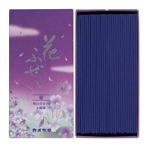 (送料無料)(まとめ買い・ケース販売)花ふぜい 紫 煙少香(80個セット)/ カメヤマ