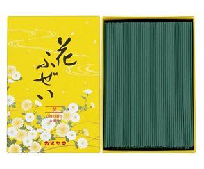 (送料無料)(まとめ買い・ケース販売)花ふぜい 黄 白檀 徳用大型(60個セット)/ カメヤマ