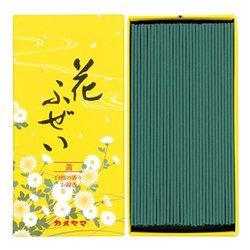 (送料無料)(まとめ買い・ケース販売)花ふぜい 黄 白檀(80個セット)/ カメヤマ