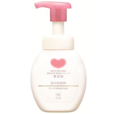 (送料無料)(まとめ買い・ケース販売)無添加泡の洗顔料 本体(ポンプ付) 200ml(24個セット)/ 牛乳石鹸