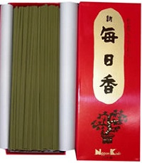 (送料無料)(まとめ買い・ケース販売)新毎日香 徳用バラ(100個セット)/ 日本香堂