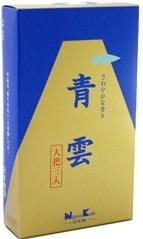 (送料無料)(まとめ買い・ケース販売)青雲 大把 (3把入)(100個セット)/ 日本香堂