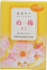 (送料無料)(まとめ買い・ケース販売)かたりべ 白梅 ミニ #26335(80個セット)/ 日本香堂