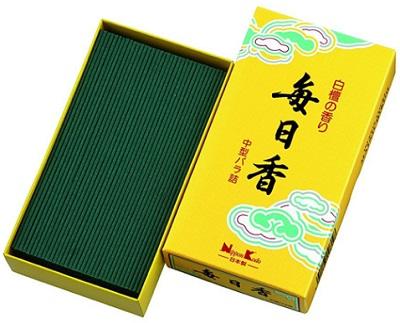 (送料無料)(まとめ買い・ケース販売)毎日香 中型バラ詰(約150g)(50個セット)/ 日本香堂