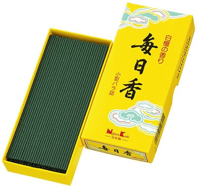 (送料無料)(まとめ買い・ケース販売)毎日香 小型バラ詰(約70g)(100個セット)/ 日本香堂