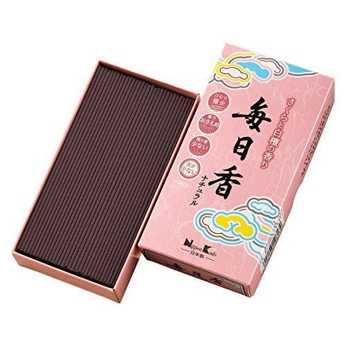 (送料無料)(まとめ買い・ケース販売)毎日香ナチュラル さくら バラ詰(60個セット)/ 日本香堂