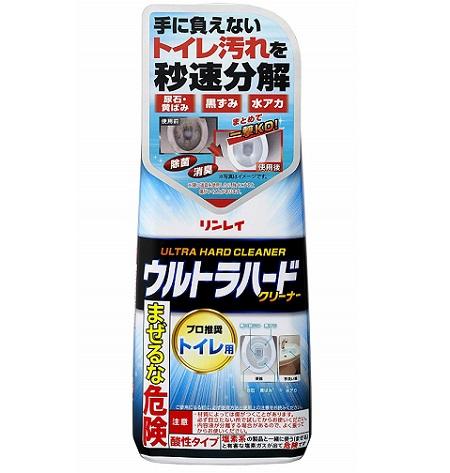 (送料無料)(まとめ買い・ケース販売)リンレイ ウルトラハードクリーナー トイレ用(500g)(12個セット)/ リンレイ
