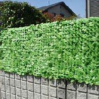《500円クーポン配布》 ■送料無料■ 壁面緑化 目隠しグリーンフェンス 大型サイズ美しく隠す。オシャレでフェンスやベランダにつけて日除けスクリーン としても 壁面緑化 屋上緑化 め