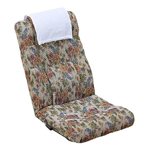 腰のラクな座椅子 SP-875L レバー操作で簡単6段階リクライニング 腰のラクな座イス 腰のラクな座いす や