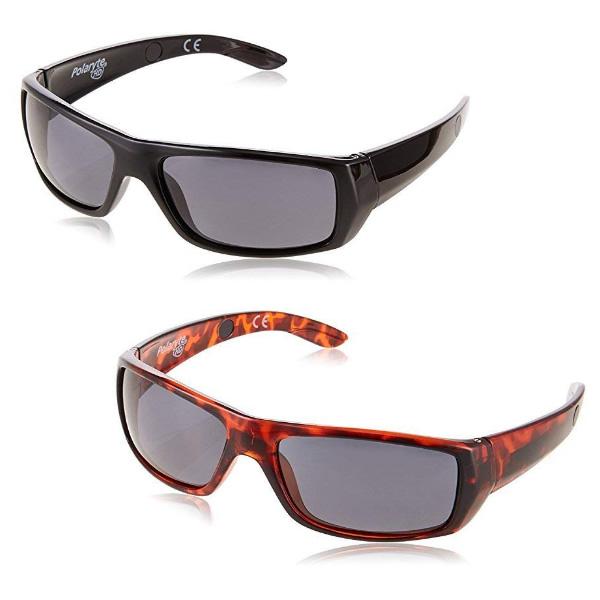 《500円クーポン配布》 ポラライトHDサングラス 2個セット ケース付モデル 送料無料+選べる景品+お得なクーポン券 偏光サングラス メンズ レディース UVカットサングラス 太陽光線 イタリーデザイン 偏光レンズ め
