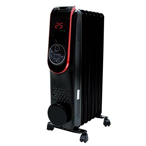 ★最大43倍+クーポン★ LED液晶パネル搭載 デジタルオイルヒーター HC-A31A ラジエターヒーター 7枚フィンオイルヒーター ラジエーターヒーター クリーン暖房 HCA31A