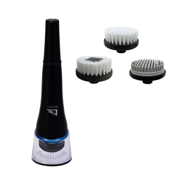 《500円クーポン配布》 アルインコ 洗顔ブラシ WB702 ALINCO BIZ.BODY 洗顔ブラシセット ブラシアタッチメント3種付き WB-702 USB充電式 電動洗顔ブラシ メンズ 男性用 フェイスブラシ め