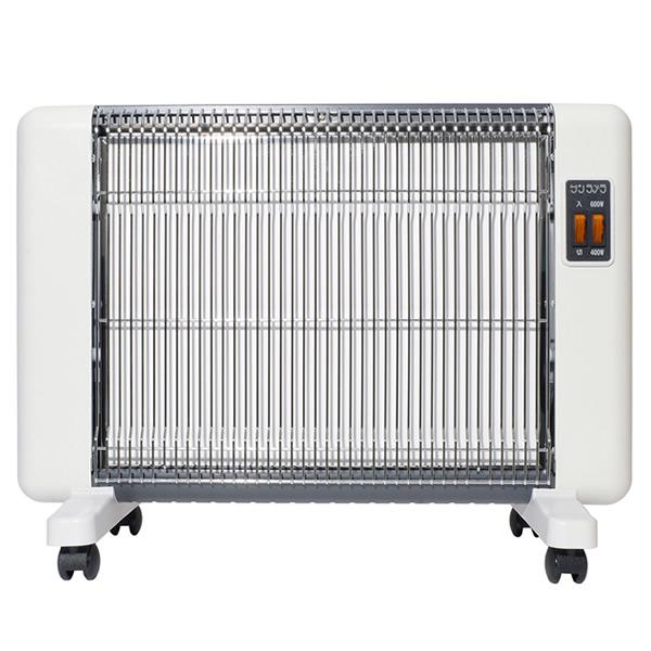 サンラメラ 600型 ホワイト 遠赤外線セラミックヒーター サンラメラ600 遠赤外線ヒーター パネルヒーター