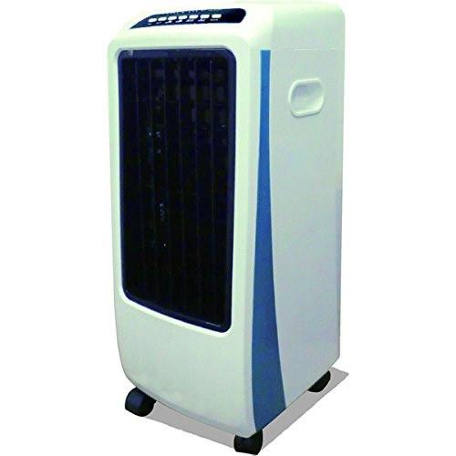 新林イオン冷風扇 健幸の滝 健康の滝 冷風扇 加湿器 空気清浄機 冷風機 リモコン付き冷風扇 キャスター付き空気清浄機