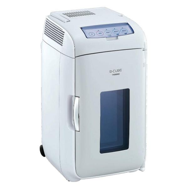 ツインバード 2電源式コンパクト電子保冷保温ボックス D-CUBE L HR-DB07GY 車内用冷蔵庫 HRDB07GY
