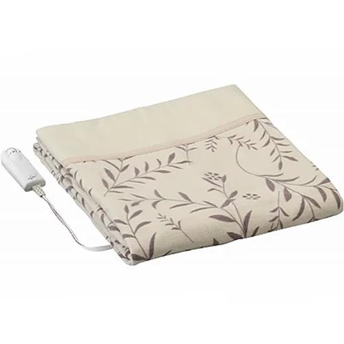 広電 リファン 電気かけしき毛布 LWK081-CL-T 夢あんない 電気毛布 掛け敷き毛布 ダニ退治 綿100% LWK081CLT か