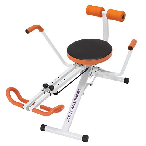 アクティブウエストレーナー 組み立て式 水平スイングと3Dスイングの切替え可能 ひねり運動 ねじり運動 ウエスト集中エクササイズマシン ゆ