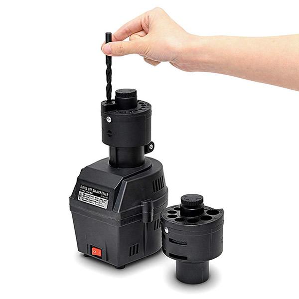 《500円クーポン配布》 ドリルビット研磨機 電動研磨機 ドリルビットシャープナー VS-TL3100 ブラック 電動工具 DIY VSTL3100 め