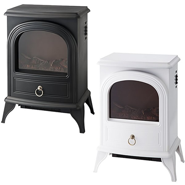スリーアップ CHT-1540 暖炉型ヒーター Nostalgie ノスタルジア 暖炉型ファンヒーター 暖炉ヒーター CHT-1540BK CHT-1540WH
