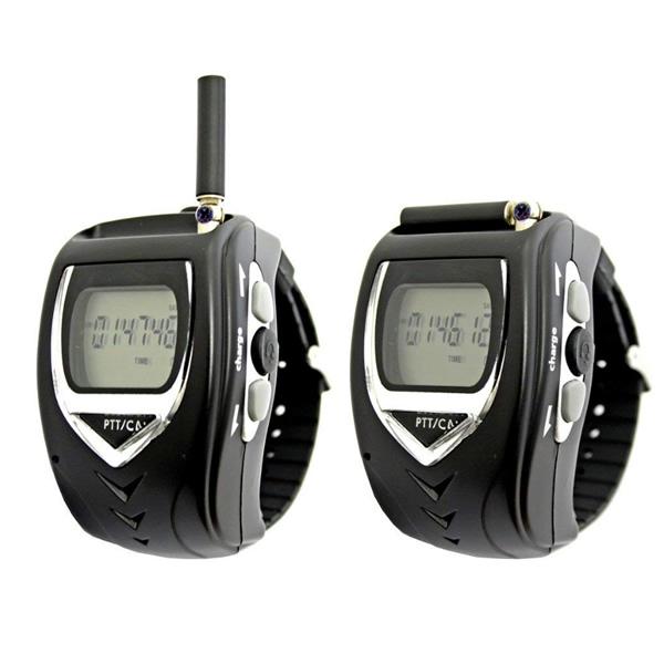 腕時計型 特定小電力トランシーバー 2台セット FT-20W イヤホンマイク付 無線機 2個組トランシーバー ハンズフリー使用可能 免許不要 小型トランシーバー FRC FT20WW も