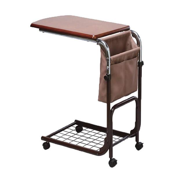 《200円クーポン配布》 ニューマルチサイドテーブル 布ポケット付 マルチテーブル サイドテーブル コンビニテーブル 介護用品 ベッドテーブル NEWマルチサイドテーブル へ