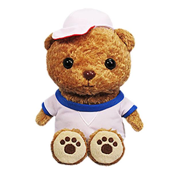 《500円クーポン配布》 まねっこ&ラジオ体操 こぐまの元気くん 動くぬいぐるみ クマのぬいぐるみ マネしながら体をピョコピョコ ラジオ体操が流れます 子熊の元気くん 子熊の元気クン め
