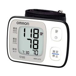 3特典【送料無料+お米+ポイント】 オムロン 手首式自動血圧計 HEM-6210 デジタル血圧計 デジタル手首式血圧計 omron 自動血圧計 HEM6210 手首式血圧計 へ